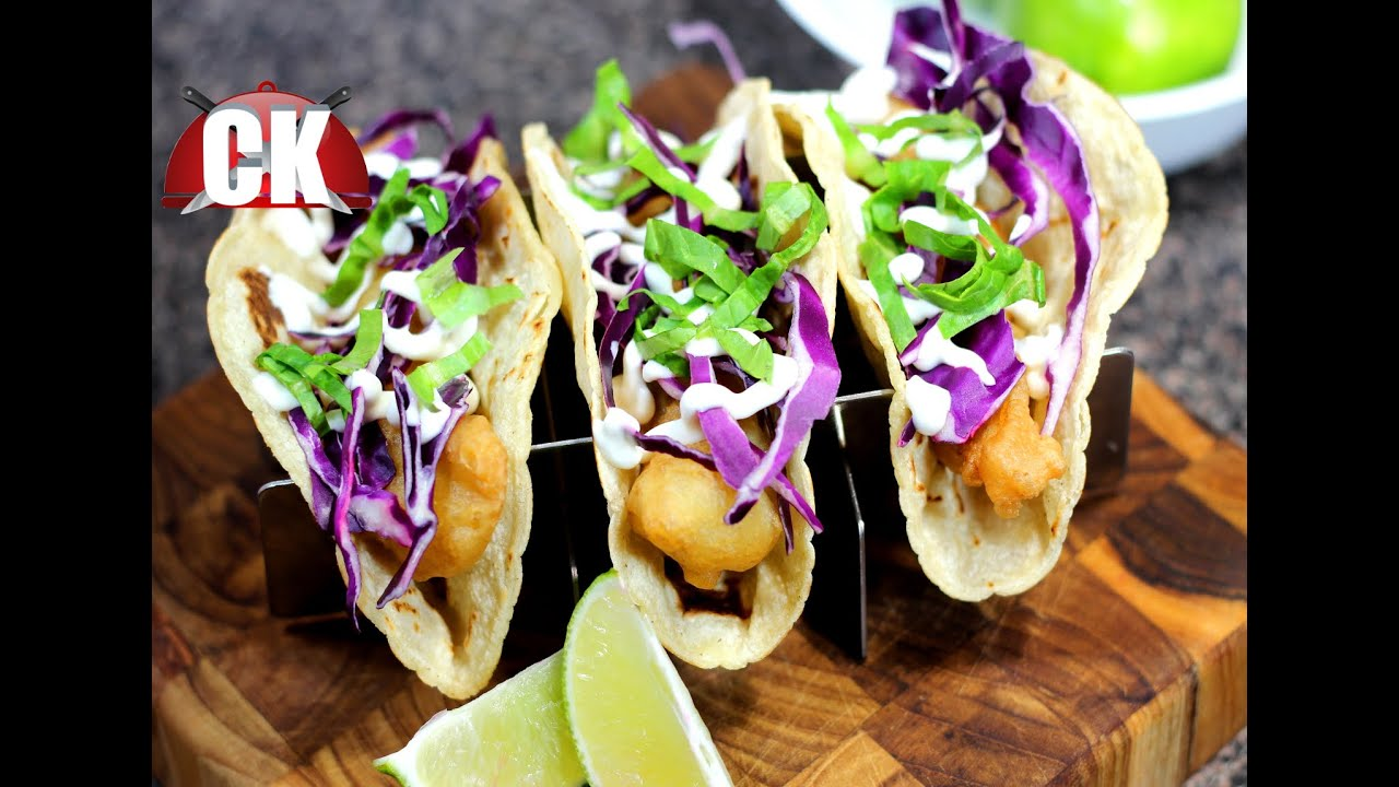 How to make fish tacos chef kendra 39 s easy cooking youtube for How to make fish tacos