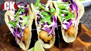 How to Make Fish Tacos - Chef Kendras Easy Cooking!