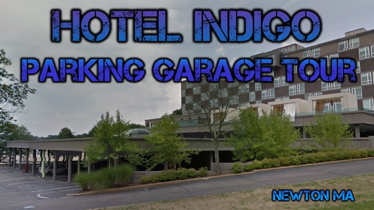 Hotel Indigo Parking Garage Tour Newton Ma
