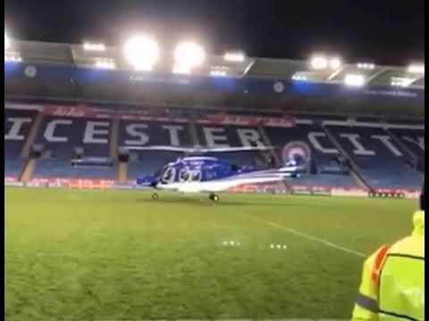 Detik-detik menegangkan jatuhnya helikopter pemilik klub Leicester city Mp3