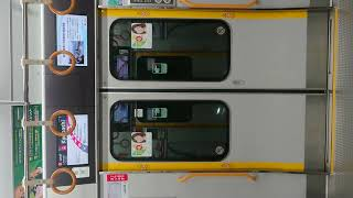 JR 大阪環状線 扉 閉 桜ノ宮駅~京橋駅
