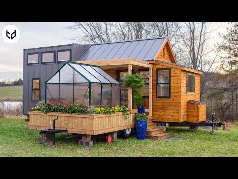 Amazing Dream Tiny House With Greenhouse
