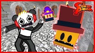 Roblox Escape Dungeon Master Floor est Lava Let's Play avec Combo Panda
