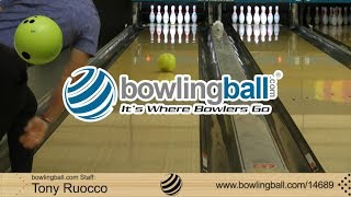 bowlingball.com DV8 Poison Bowling Ball Reaction Video Review