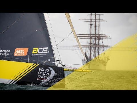 Mirpuri Foundation In-Port Race Lisbon in 135 seconds | Volvo Ocean Race