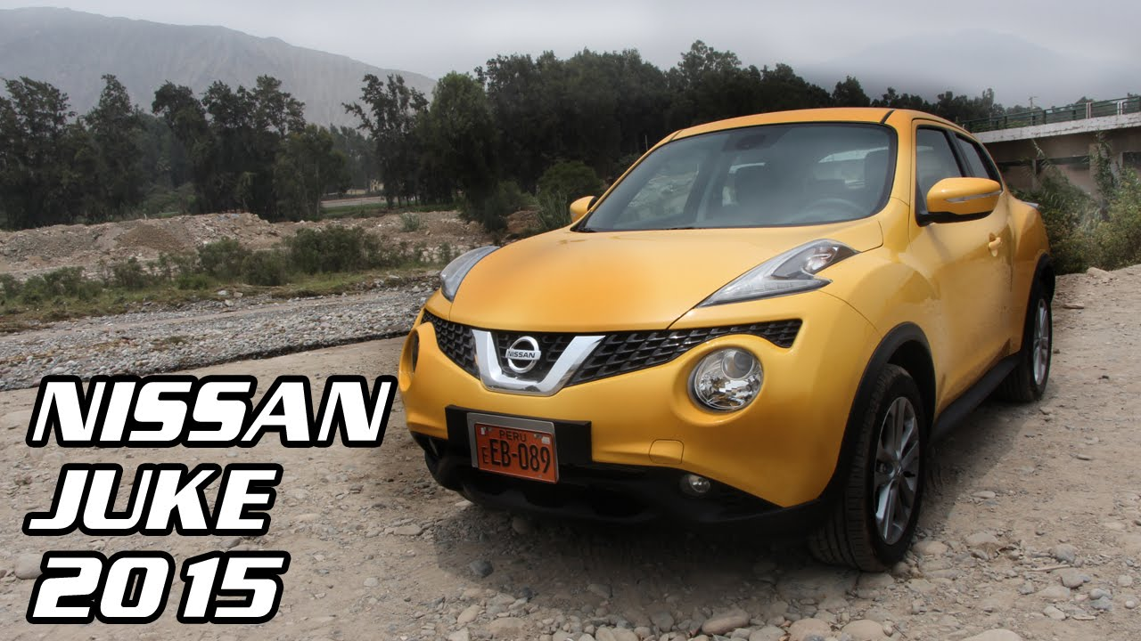 test drive nissan juke 2015 | video en full hd | todoautos.pe - youtube