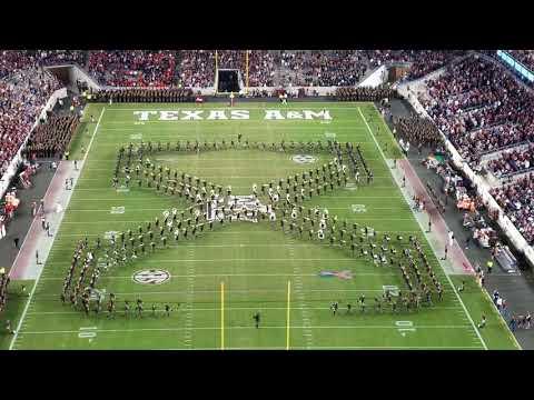 Fightin' Texas Aggie Band - 11/11/2017 Final Home performance