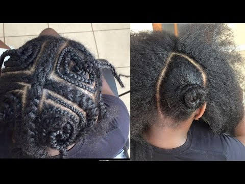 Vixen Crochet Box Braids : 13. VIXEN CROCHET BRAID : simple & easy - YouTube