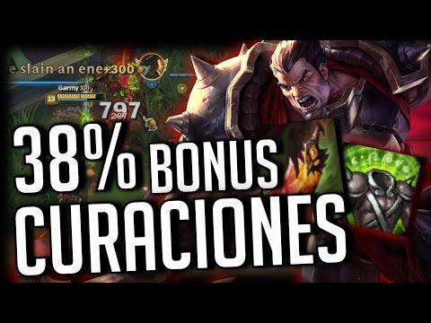 ¡CURACIONES CON UN 38% DE BONUS! | DEATH DANCE DARIUS | Garmy