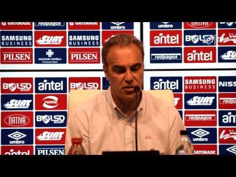 Conferencia de prensa de Martín Lasarte - 4/12/2016