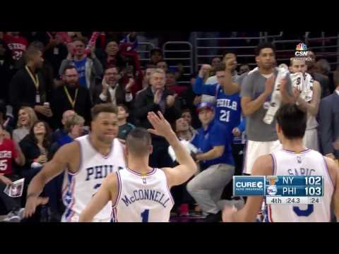 76ers & Knicks Down to the Wire AGAIN! Check out All 3 Finishes Here! | 03.03.17