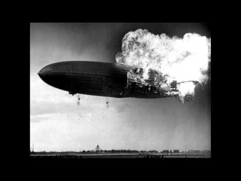 Hindenburg Crewman Describes Surviving Fire