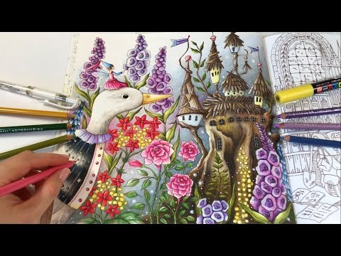 fairy-world---part-2:-romantic-country-the-second-tale-coloring-book-by-eriy