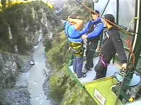 Canyon Swing Queenstown New Zealand