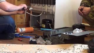Как заменить компрессор ХОЛОДИЛЬНИКА