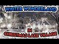Winter Wonderland in Christmas Lake Village, Santa Claus Indiana