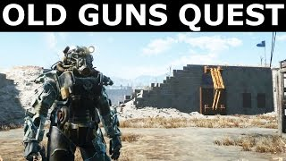 """Fallout 4 - Gain Access To The Castle's Armory - """"Old Guns"""" Quest"""