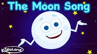 THE MOON SONG | Moon & Satellite Shape songs | Bedtime songs for babies | Nursery Rhymes For Kids