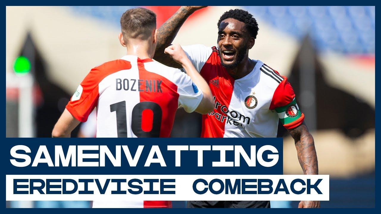 Bozenik schiet direct met scherp 🎯   Samenvatting Feyenoord - Sparta Rotterdam   De Comeback