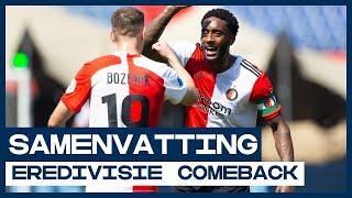 Bozenik schiet direct met scherp 🎯 | Samenvatting Feyenoord - Sparta Rotterdam | De Comeback