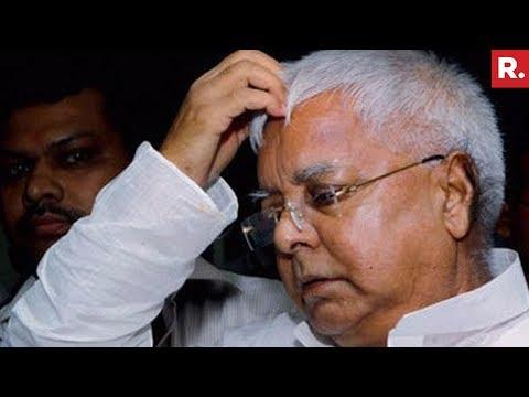 Republic Accesses 136 Page IT Report Against Lalu Prasad Yadav