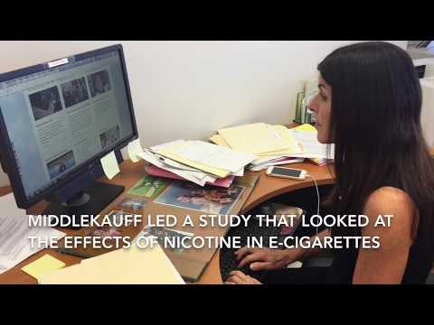 One e-cigarette with nicotine leads to adrenaline changes in nonsmokers' hearts | UCLA Health