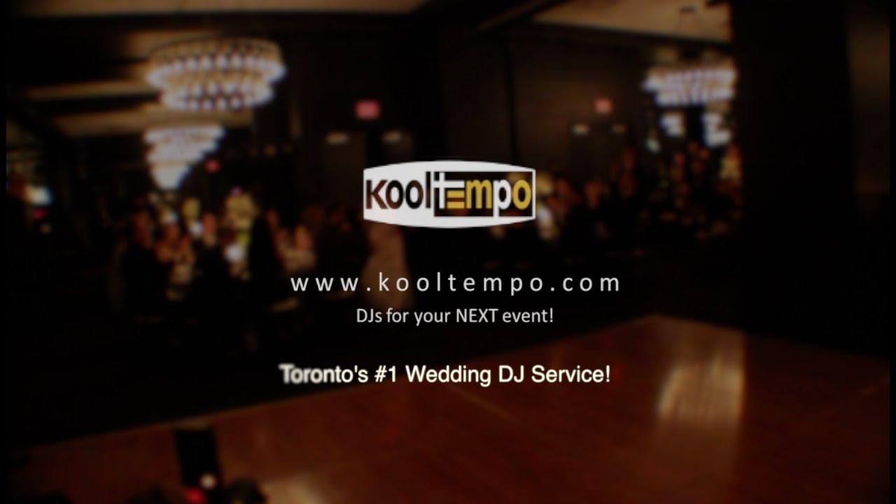 Best Wedding Dj In Toronto Kooltempo Toronto Dj Service Youtube