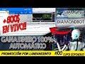 📲📈 Lanzamiento Robot de Trading DiamondBot | Gana dinero 100% Automático | 🔴 PRUEBAS EN VIVO 🔴