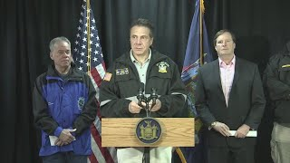 Cuomo, Westchester Officials Midday Storm Update