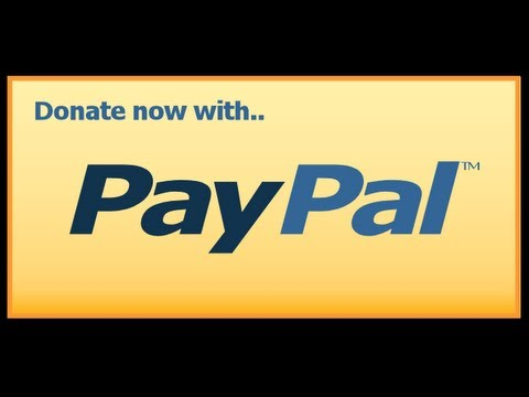 How To Make A Paypal Donation Button Youtube