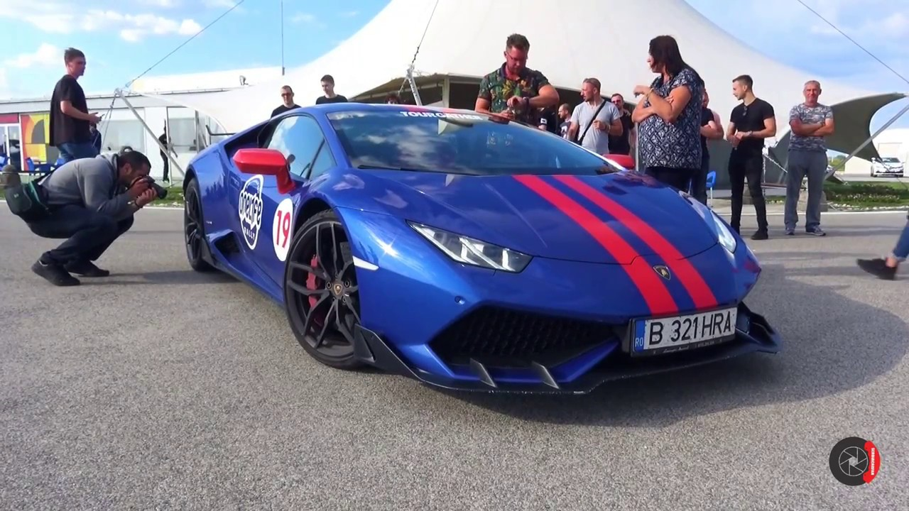 Lamborghini Huracan W Aero Kit And Sports Exhaust Revs Youtube