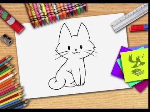 Hoe Teken Je Een Kat Zelf Een Poes Leren Tekenen
