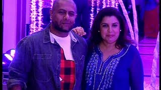 Farhan Khan and Vishal Dadlani at Sunidhi Chauhan