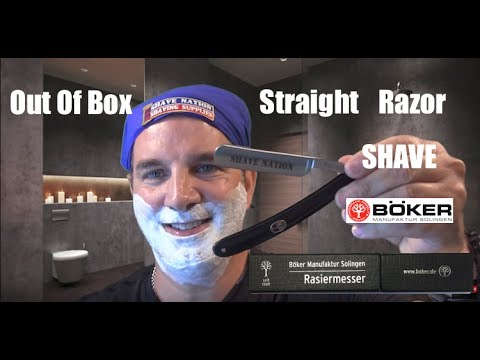 Out of Box Shave: Böker Shave Nation Straight Razor
