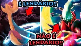 A DIFERENÇA ENTRE POKÉMON MÍTICO E LENDÁRIO!!