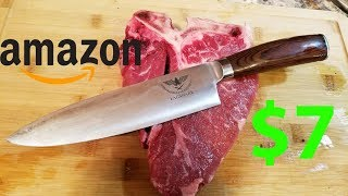 Whats shaking homies so today I got another cheap knife from amazon up for unboxing and review. So this is the Eagshark 8 inch chef knife. This knife I got for ...