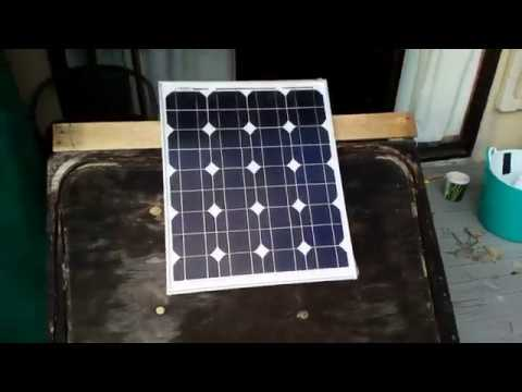 SAFE Howto Hook up car ALTERNATOR to SOLAR CHARGE CONTROLLER Solar panels solar energy projects DiY from YouTube · Duration:  9 minutes 26 seconds