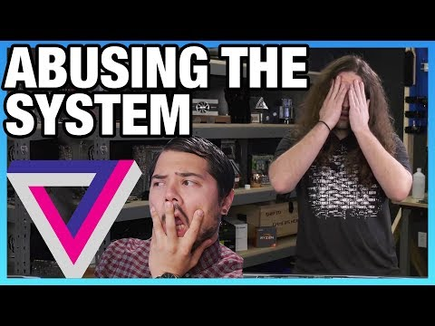The Verge Abusing Copyright Claim System To Hide PC Build Video
