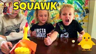 Squawk Game....Oh boy! Chicken Board Game