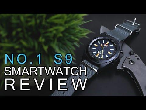 NO.1 S9 Smartwatch Review (iOS)