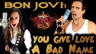 ★ You Give Love A Bad Name - Bon Jovi [Cover] - Srod & Sveno