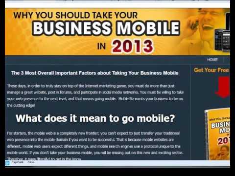Mobile Grab Bag Software Template Creator