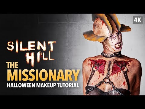 Silent Hill: The Missionary Halloween Makeup Tutorial