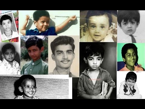Tamil actors childhood photos - Kollywood actors