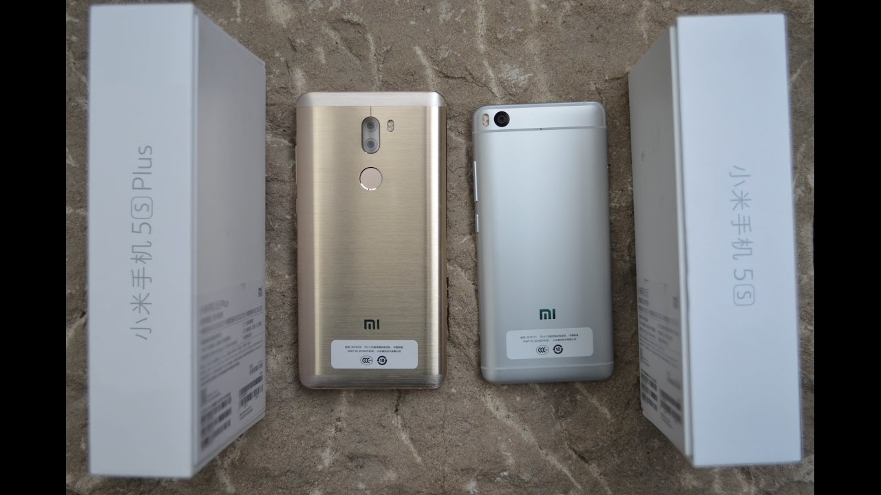 Xiaomi Mi5s vs. Xiaomi Mi5s PLUS - Detailed view ...