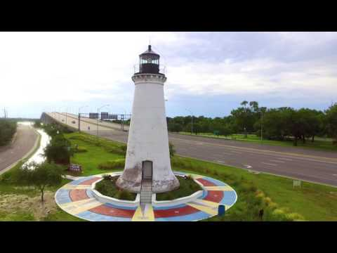 Pascagoula Mississippi Drone Footage (Test Shoot)