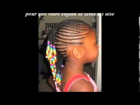 Coiffure Petite Fille Afro Tendance Youtube
