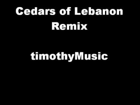 Cedars of Lebanon Remix