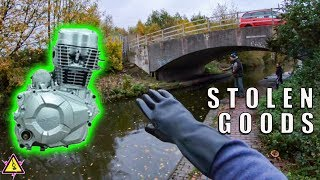 Magnet Fishing - For Stolen Gear From a Secluded Bridge