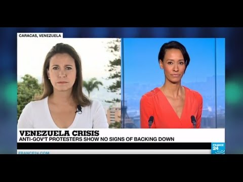 """Maduro has turned Venezuela into a narco state"" - Opposition leader Maria Corina Machado"
